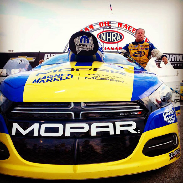 Allen Johnson 2012 NHRA Pro Stock World Champion.